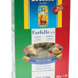 Паста Фарфалле триколор №93 DE CECCO 500гр