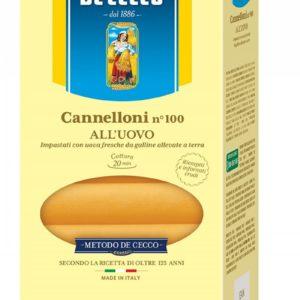 Паста Каннеллони №100 DE CECCO 250гр