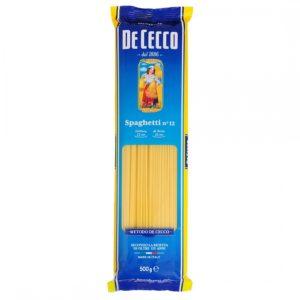 Паста Спагетти №12 DE CECCO 1кг